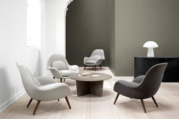 Fredericia – Swoon Lounge Chair