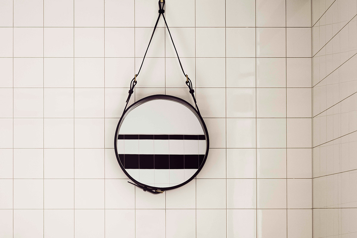 Gubi Wandspiegel Adnet