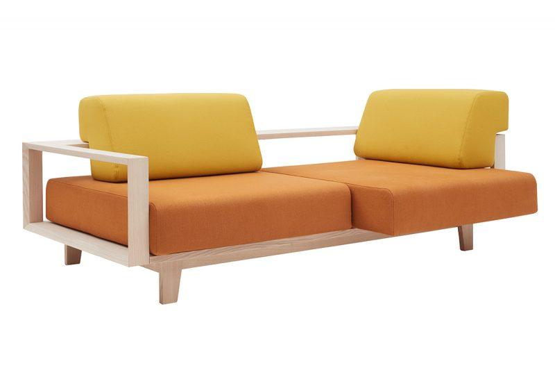 Softline Sofa Wood