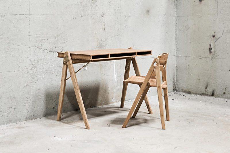 We Do Wood Schreibtisch Field