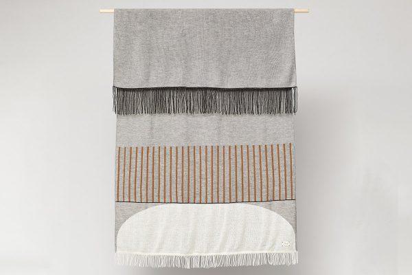 Form & Refine – Decke Aymara Pattern Grey
