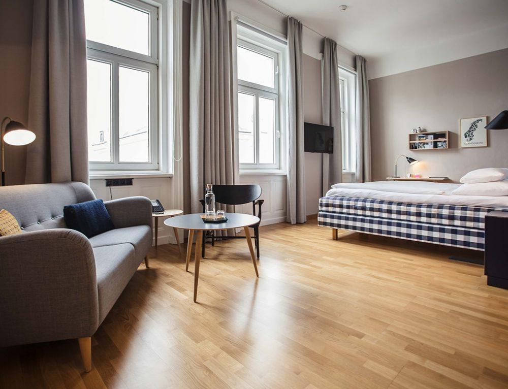 Das Skandinavische Hotelzimmer – eine Kooperation zwischen Hotel Rathaus Wein & Design Wien, Scandinavian Design House und Hästens Store Vienna