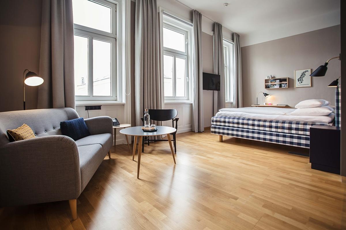 Das skandinavische hotelzimmer eine kooperation zwischen for Hotel und design