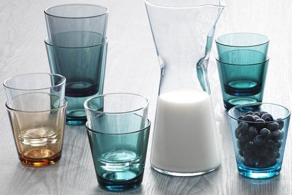 Iittala – Kartio Gläser und Karaffe