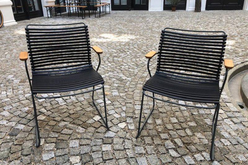 Houe – Gartenstuhl Click – Schwarz
