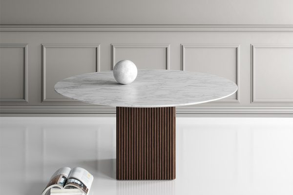dk3 – Tisch Ten Round Marble