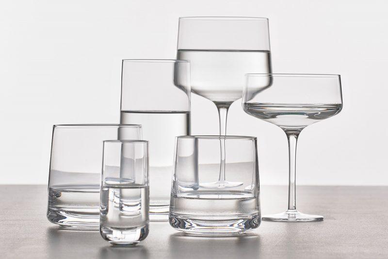 Trink- und Weingläser