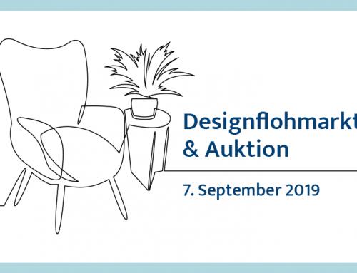 Designflohmarkt & Auktion am Samstag, 7. September 2019 von 10-17 Uhr