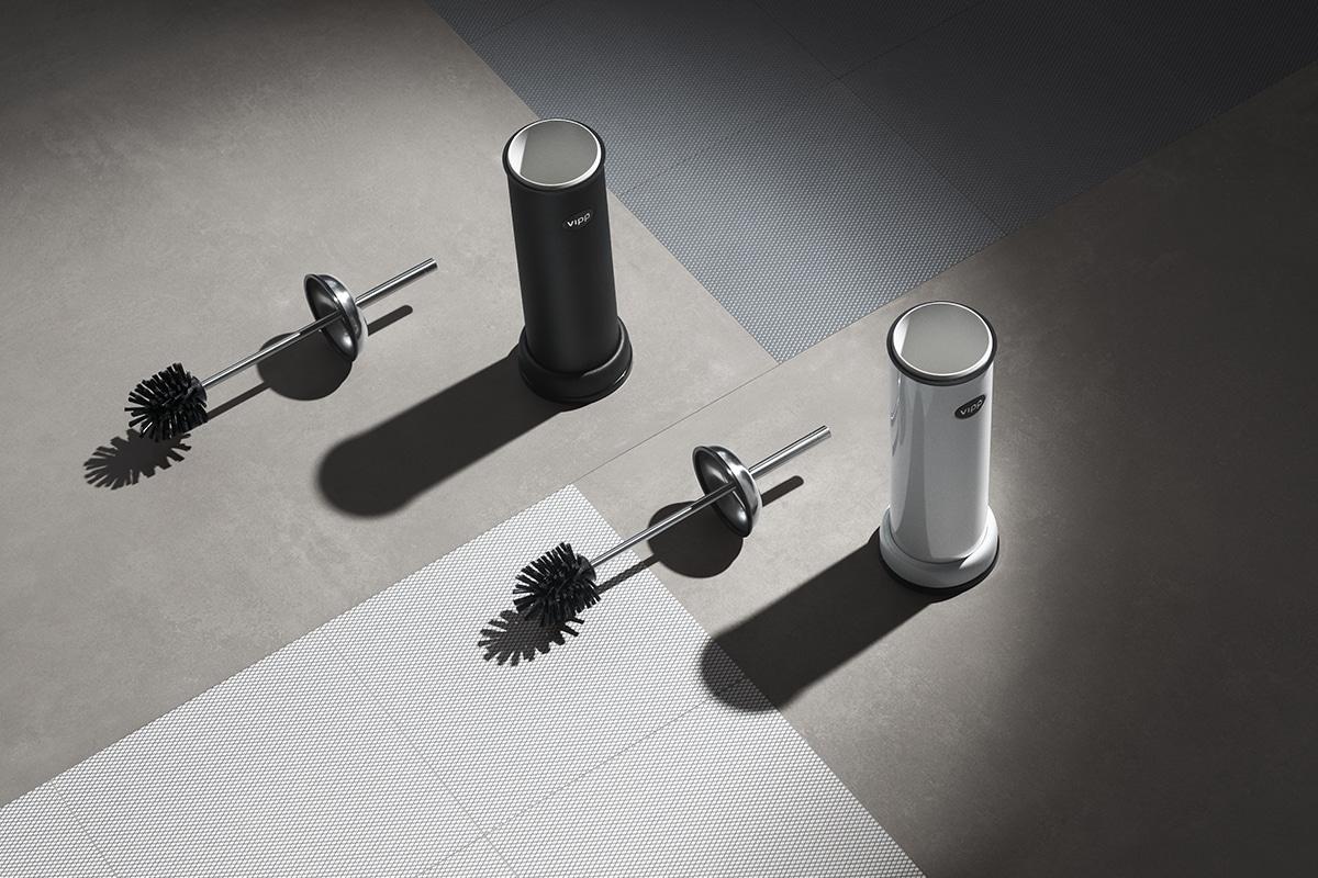 Vipp 11 toilet brush.vipp wc brste scandinavian design house wien
